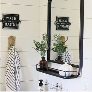 Rare • Wash Your Hands • Metal Sign• Hearth & Hand
